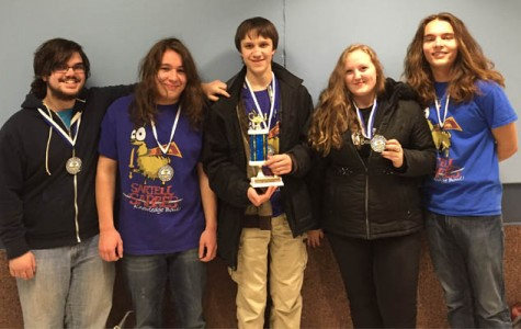 Sabre Varsity 1 Knowledge Bowl Fights to 8th at Zimmerman