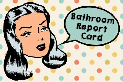 Ladies bathroom report card