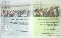 SMS annual winter choir concert