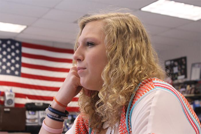 Allie Hemmesch was voted in as the new MAHS State President on April 10th.