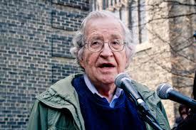 Noam Chomsky, Professor Emeritus at the Massachusetts Institute of Technology