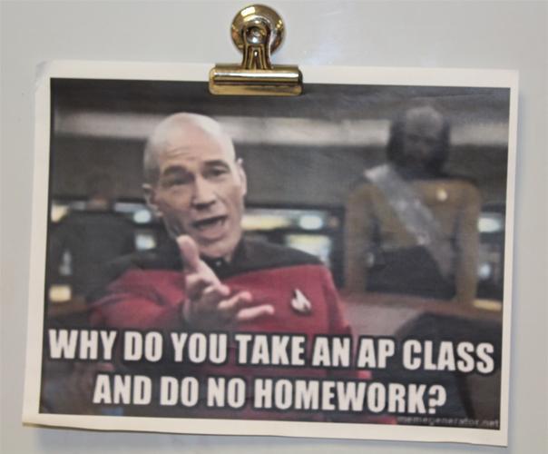 AP Meme in Mrs. Fredrickson's room