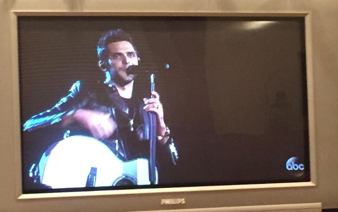 Thomas Rhett performs on stage