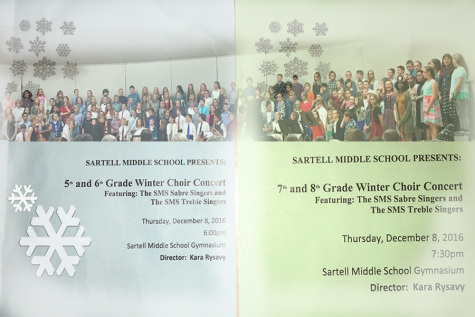Sartell Middle School band concert!