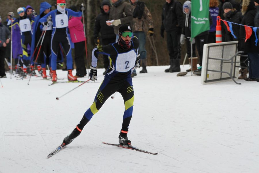 """Sartell skiers """"Kick"""" it in for conference"""