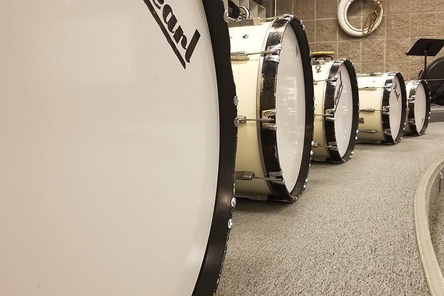 A drumline