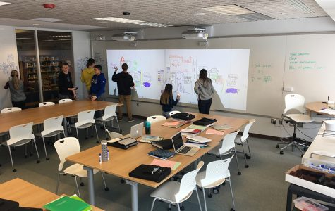 The new prototype studio classroom is being used