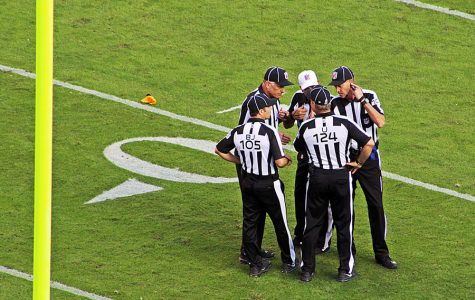 On the ropes: NFL officiating