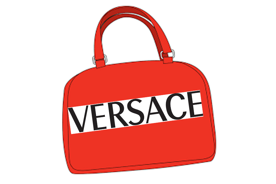 Versace sees a new future of Handbags/accessories.