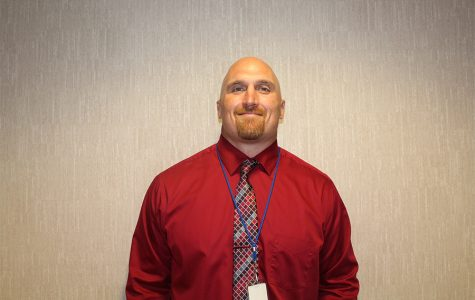Sartell High School Assistant Principal Nick Peterson.