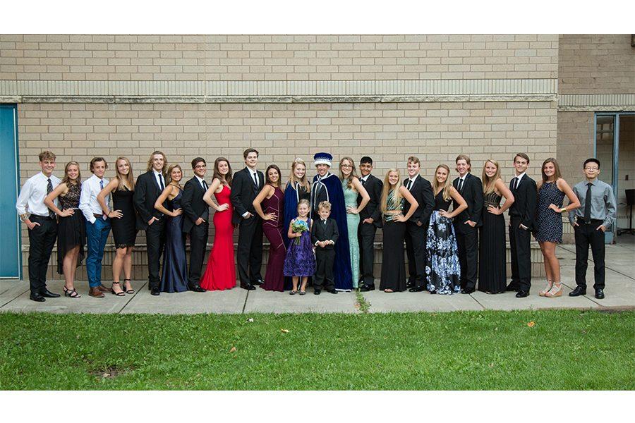 2018 Homecoming Royalty