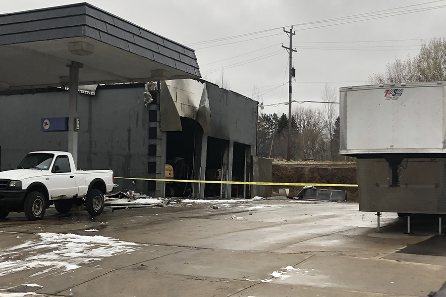 Fouqette Auto located in Sartell after fire ravaged building on November 6th