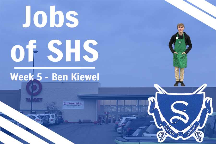 Sartell+High+School+Senior+Ben+Kiewel+is+featured+in+the+5th+installment+of+Jobs+of+Sartell+High+School.