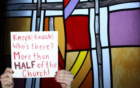 Women attempt to shatter the stained glass ceiling of the Catholic Church