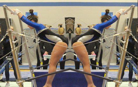 Sartell Sabre Gymnastics team beats Fergus Falls
