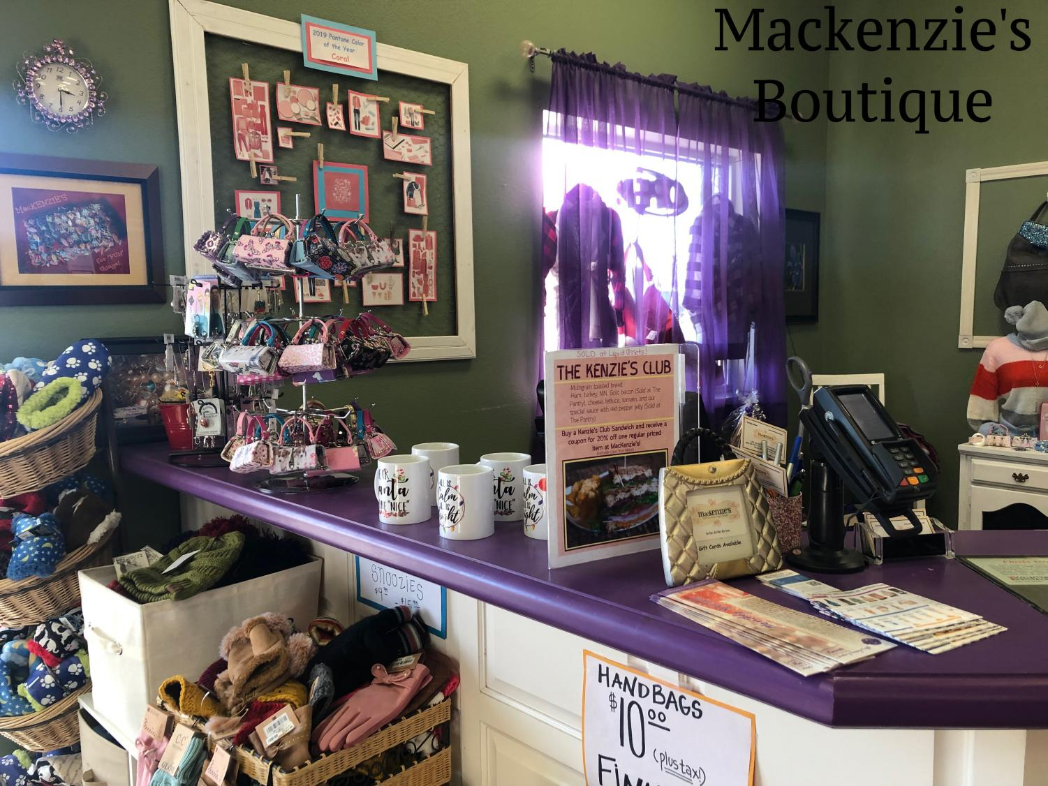 Mackenzie's offers a wide selection of accessories that satisfy every need.