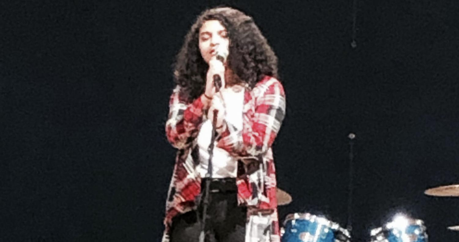 Tiana Younkin during her performance.