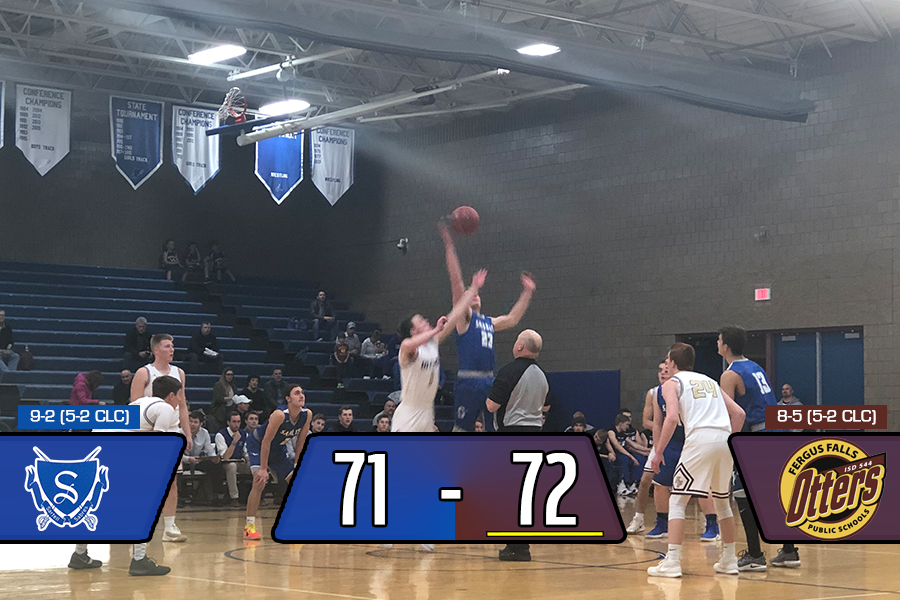 Sartell lost by a point to Fergus Falls on January 15th.