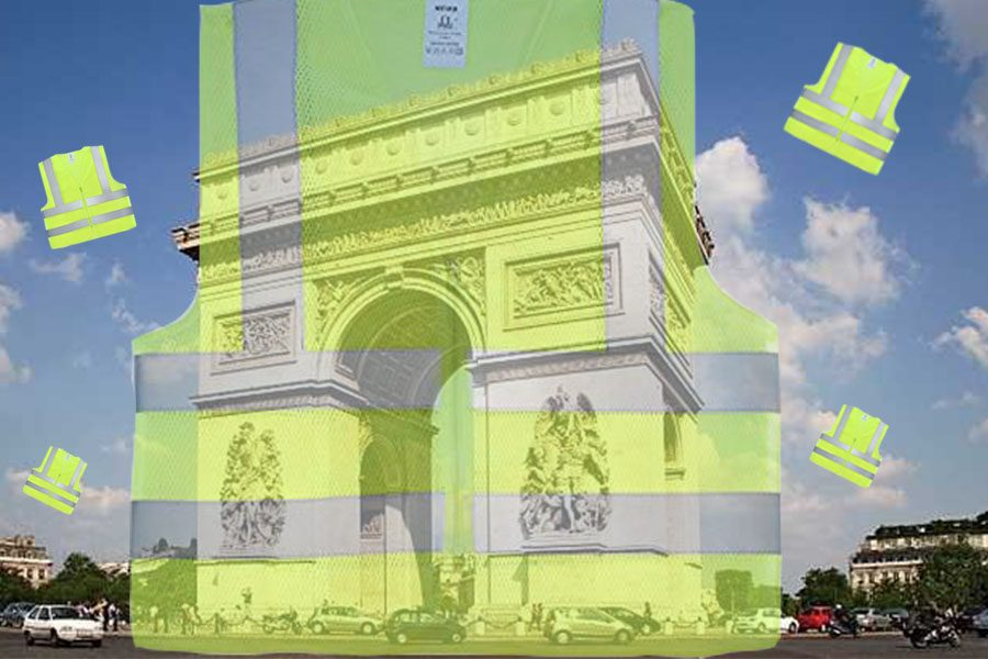 Protests+have+broken+out+all+across+France+over+the+rising+fuel+costs.+