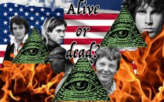 Elvis, Kurt Cobain, Tupac Shakur, Amelia Earhart, Jim Morrison