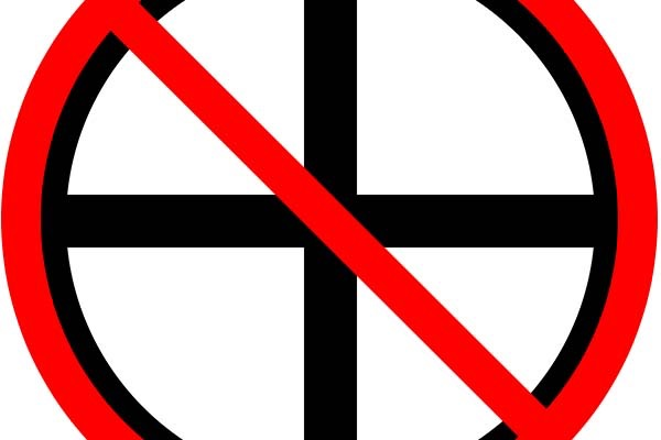 symbol representing anti humanity thoughts