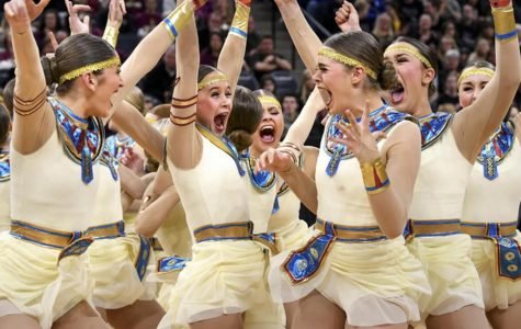 Sartell dancers share their stunned emotions after hearing they were the class 2A high-kick champions.