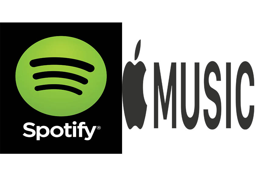 Which music service do you use more?