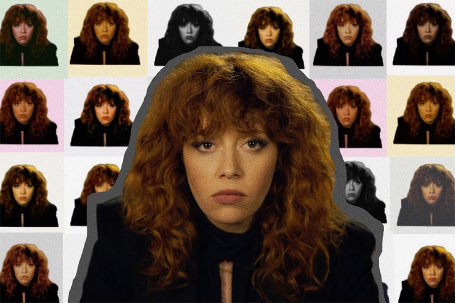 Nadia , played by Natasha Lyonne, is the main character in this new Netflix hit.