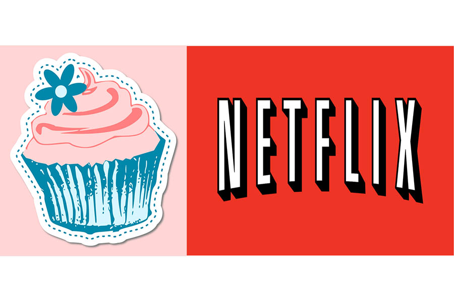 This picture represents the Sugar Rush show, on Netflix that is super fun and exciting!