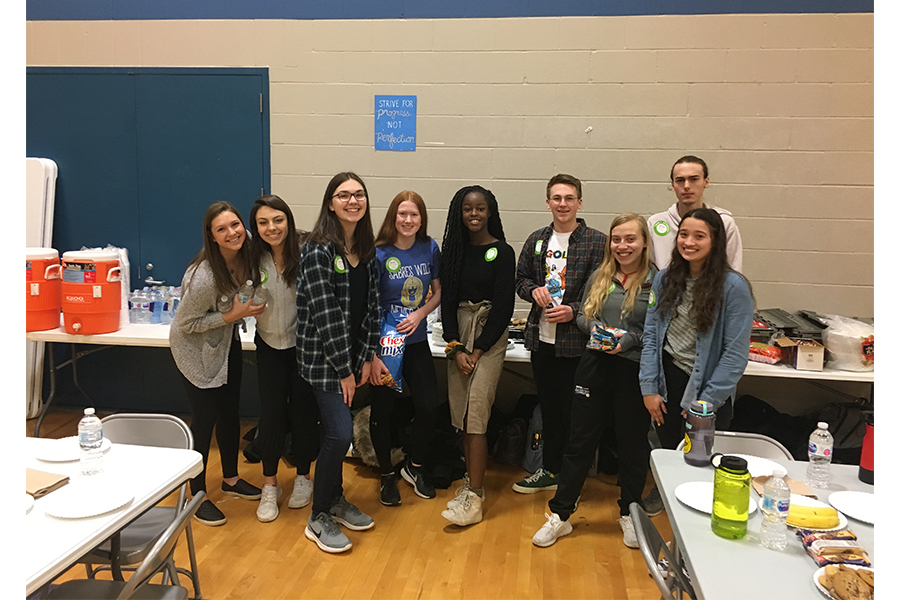 Student Council is helping to set up and run the entire Sartell High School blood drive.