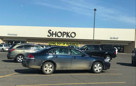 original picture of the Shopko building in St. Cloud that is going out of business.