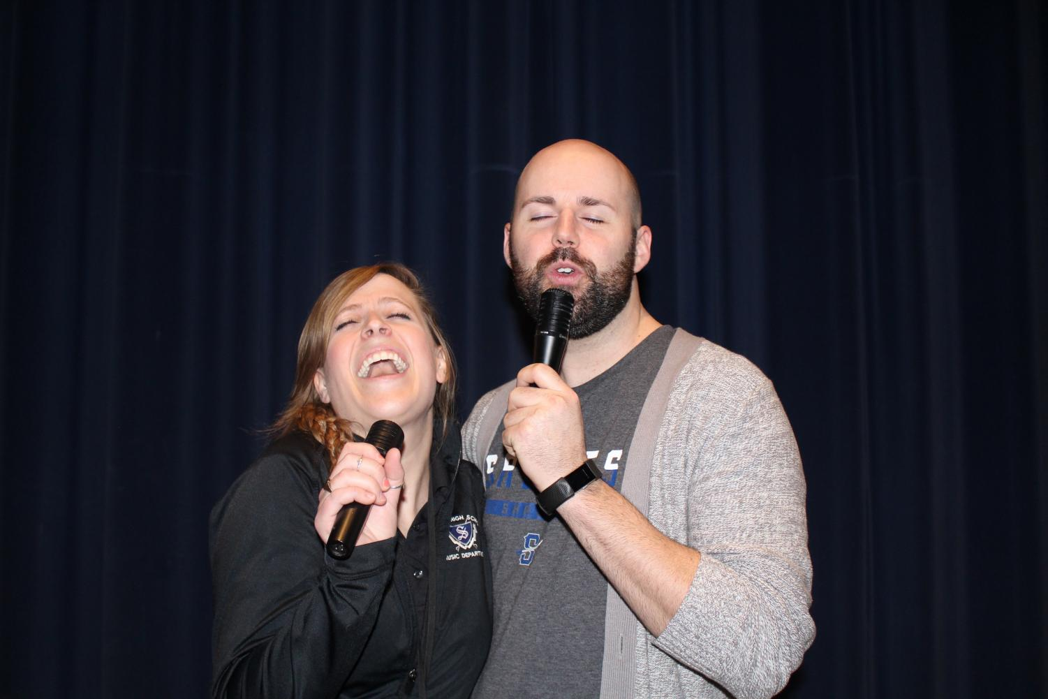 This weeks Humans of Sartell teachers, Mrs. Richards and Mr.Nordhues
