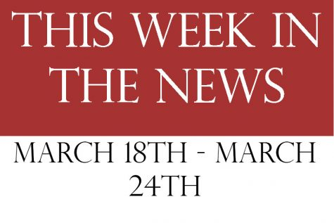 This week in the news:March 18th – 24th