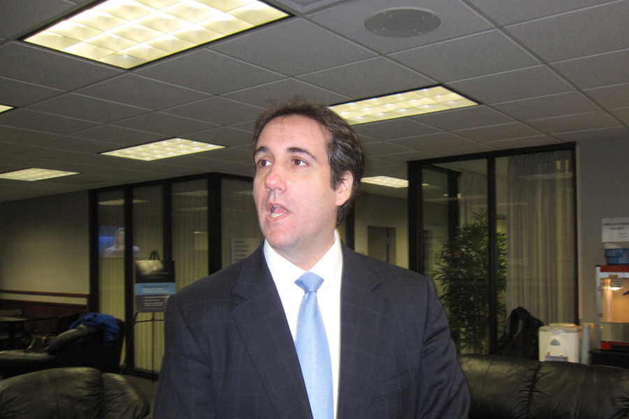 Cohen was a former lawyer of Trump.