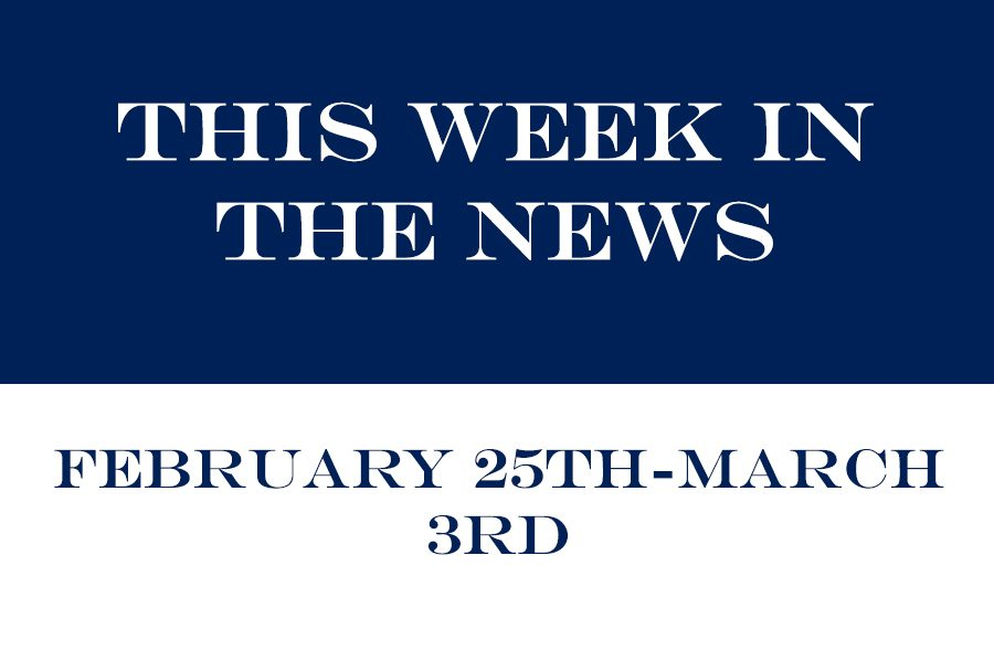A weekly column for quick concise news.