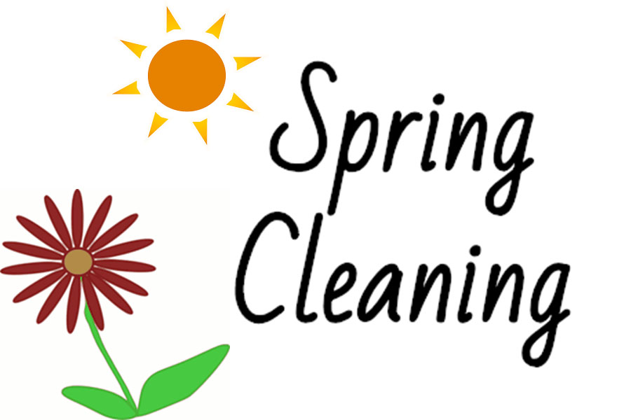 Spring cleaning, along with many other activities, should fill up your time this season.