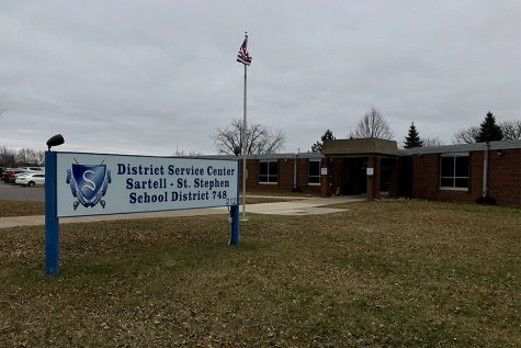The Sartell Public Safety Center is under construction