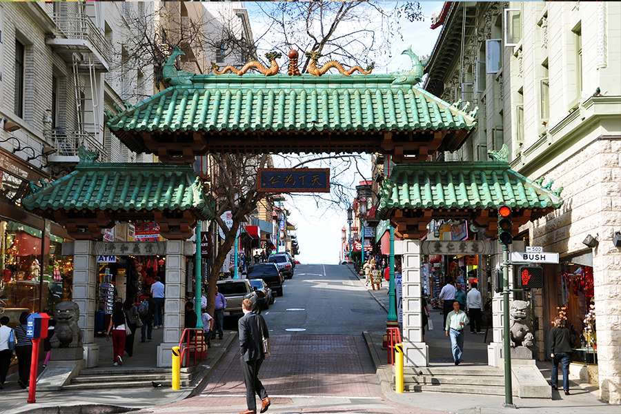 Chinatown offers a wide range of food, shops, and entertainment that are unique to the area.