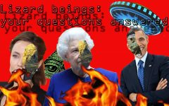 Conspiracy Corner: Lizard People