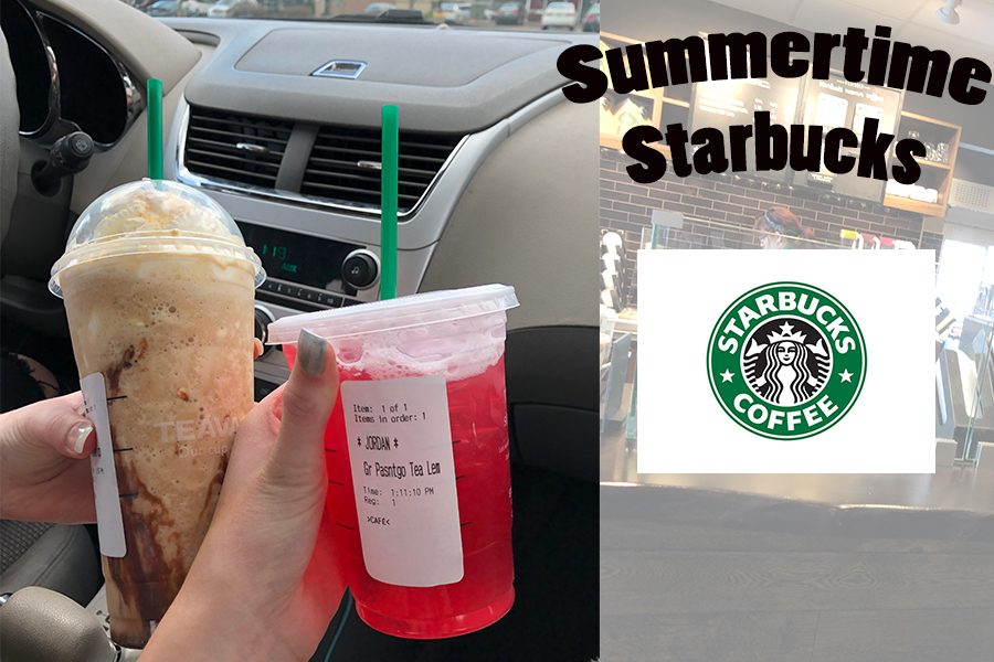 Summertime Starbucks