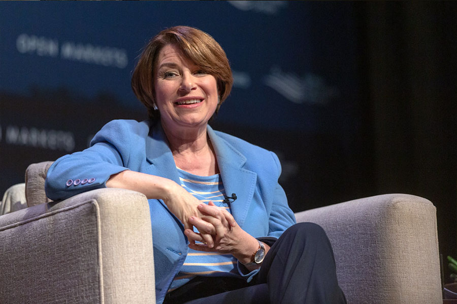 Amy Klobuchar, planning for the future and winning the presidential elections.