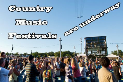 Country music festivals are in full hype as the first ones begin in early June.