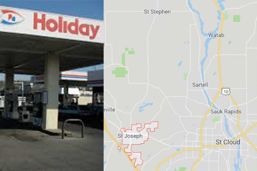Possible shots fired near the Holiday in St. Joe.