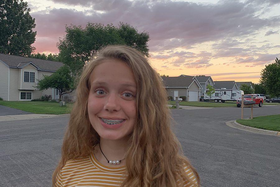 Mallory Appel is a freshman at Sartell High School for the 2019-2020 school year