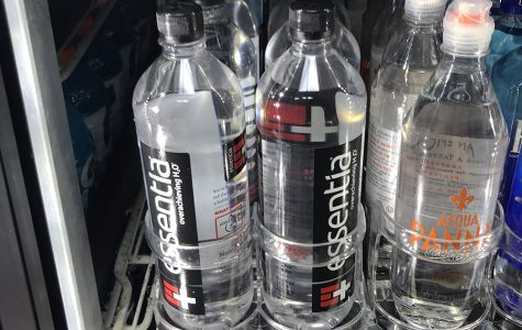 Essentia water is sold at Holiday at 2 for $4. It is one of the only unflavored ionized waters that holiday carries