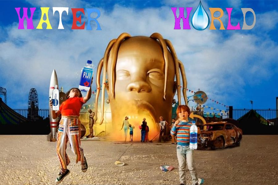 Travis+Scoots+album+covered+edited+into+water+world+with+some+water+touches