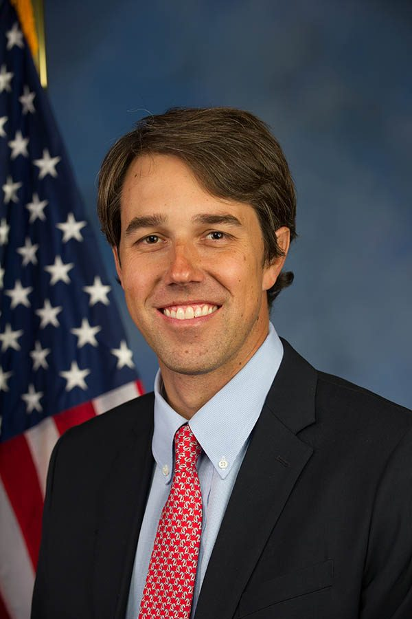 Beto O' Rourke is an politician who represented Texas in the United States House of Representatives from 2013 to 2019