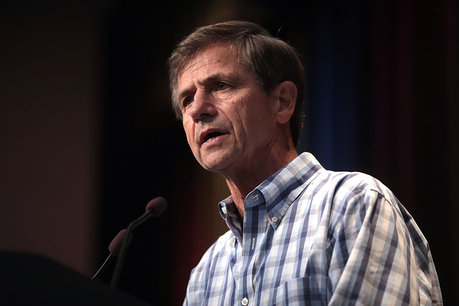 Joe Sestak talking about his recent runnings and his goals