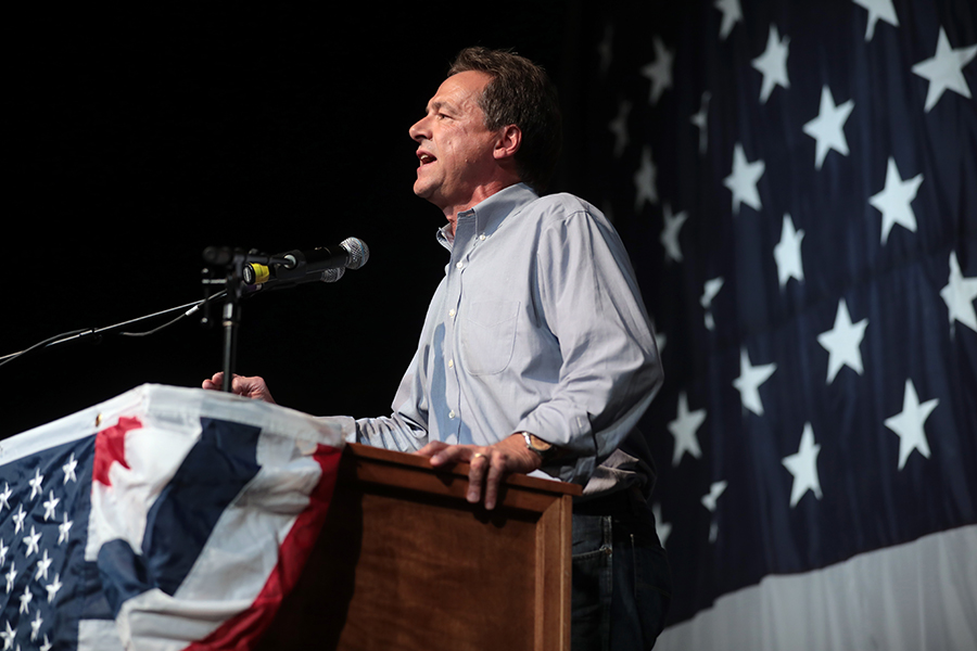 Steve Bullock is apart of the democratic who was also the former governor of Montana