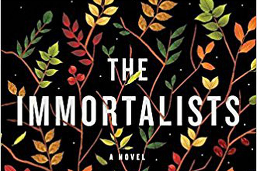 The+Immortalist+is+a+striking+novel+about+four+siblings+who+visit+a+psychic+when+they+are+children.
